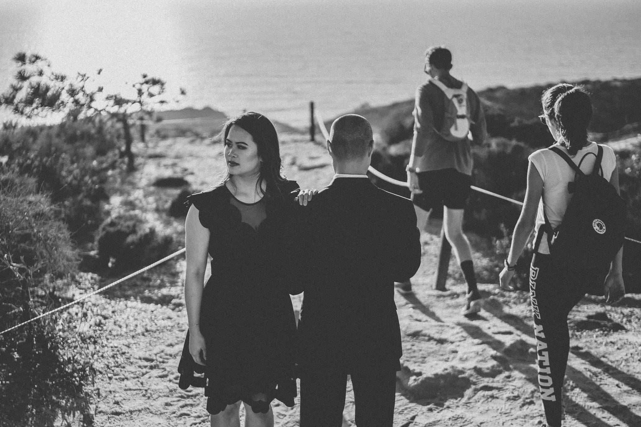 Torrey Pines State Beach Engagement Photos